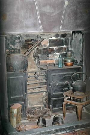 Inside a cottage