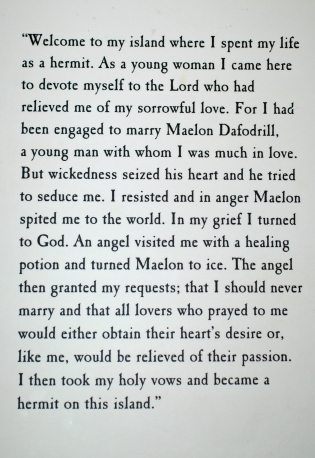 St Dwynwen's story