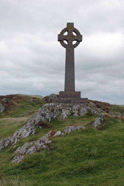 Celtic cross, Llandwyn Island