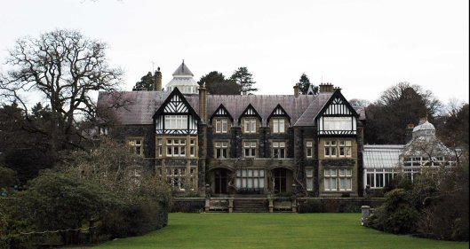 Bodnant House is not open to the public