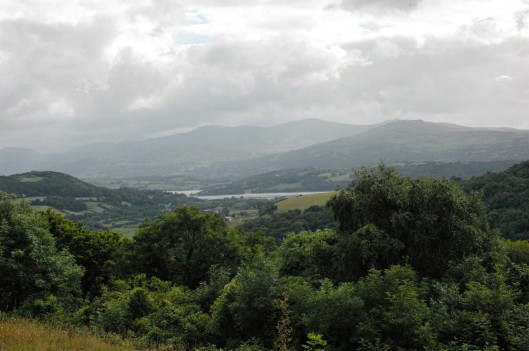 Looking across to Conwy Estuary