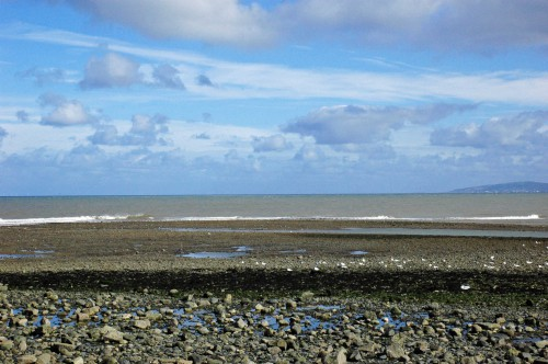 151007TGNW-2-Tide coming in-Rhos-on-Sea