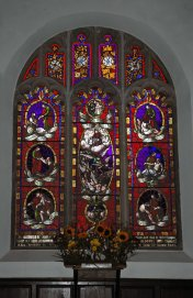 151022-Llangernyw-Church stained glass window 1