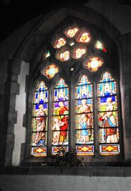 151022-Llangernyw-Church stained glass window 2a