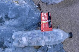 200127-KBLNR- (94)-plastic bottle filled with pebbles